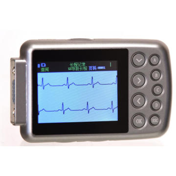 High quality portable holter ecg