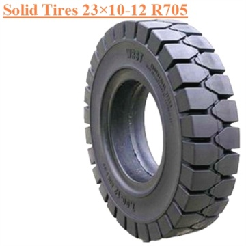Industrial Field Running Vehicles Solid Tire 23×10-12 R705