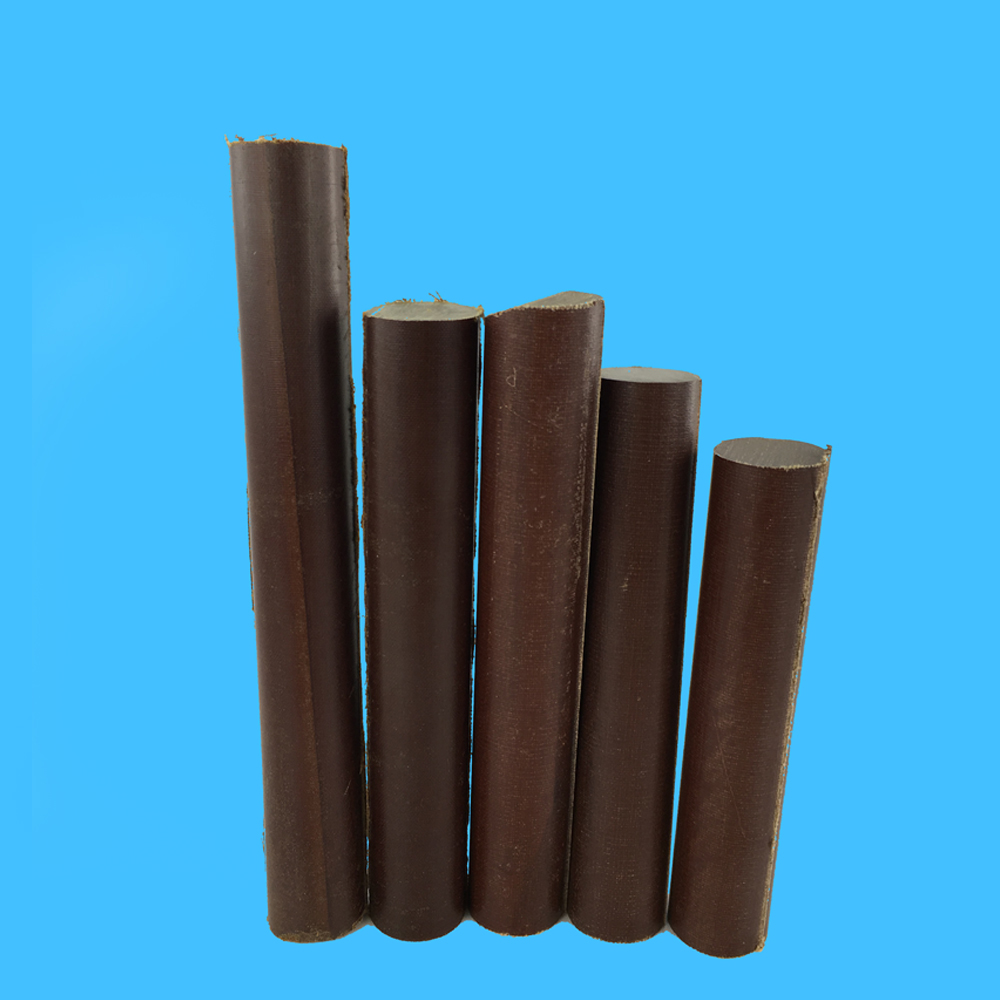 Insulation Material Coffee Fabric Phenolic Cotton Cloth Rod