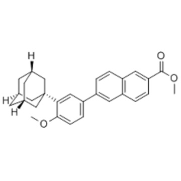 Mehtyl 6-[3-(1-adamanty)-4-methoxy phenyl]-2-naphthoate CAS 106685-41-0