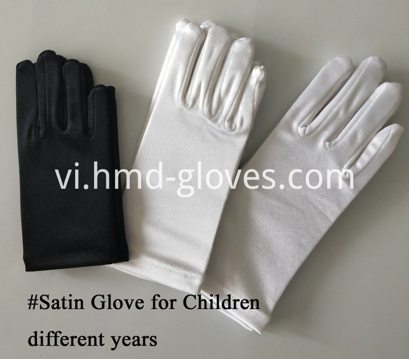Satin for Children different years