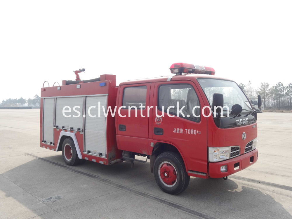 china new 3000l fire truck 5
