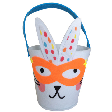 Easter Rogue rabbit pattern bucket