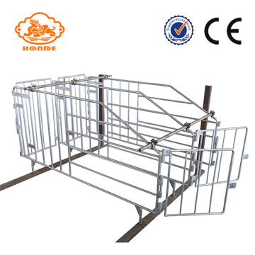Hot-dip galvanized gestation stalls on time