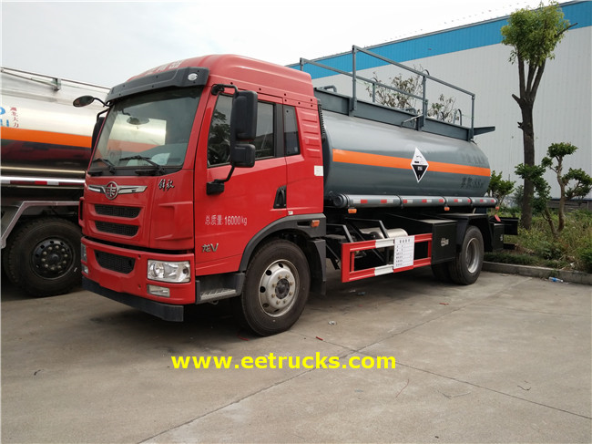 Hydrochloric Acid Transport Trucks