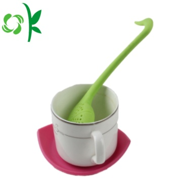 Silicone Tea Infuser Strainer with Lid