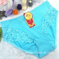 female lace high class underwear on sale light green cotton panty lace sexy hot underwear 5831