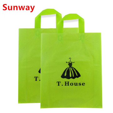 Plastic Shopping Bag With Handles