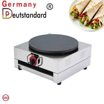 Commercial Food Machine gas crepe making Machine
