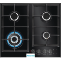 AEG Gas On Glass Hob Built-In 4 Queimadores