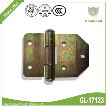 High quality color zinc-plated heavy duty hinge