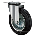 80 mm    industrial  rubber casters without brakes