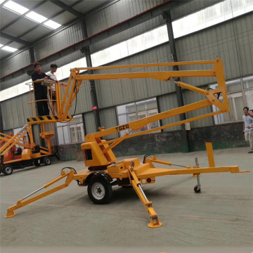 8-20m Trailer Mounted Towable Boom Lift