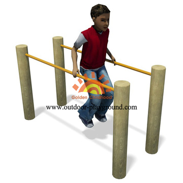 Wooden Parallel Bars Balancing HPL Playground For Kids