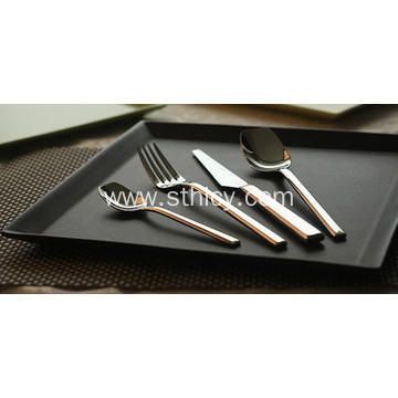 High Grade Customized Stainless Steel Dinnerware Set