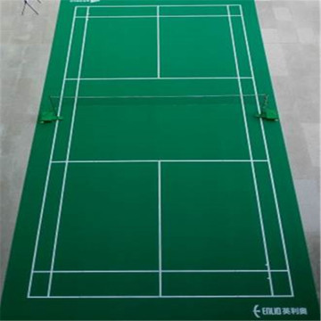 Indoor vinyl badminton court mat sports flooring