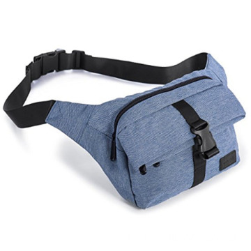 Customized Logo Convenient Blue Buckle Waist Pack
