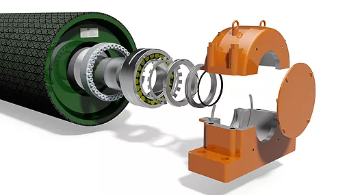 Spherical Roller Bearing For Pulley Structure