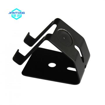 High precision small curved bending metal brackets