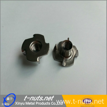 "Pronged Tee Nut 1/4""-20 x 5/16"""