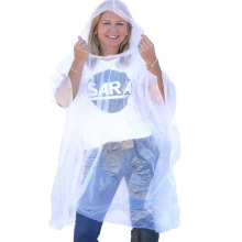 Eco- friendly Biodegradable Rain poncho