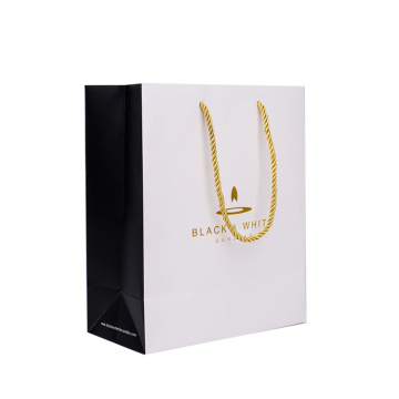High Quality Luxury Packaging Coated Paper Bag