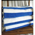 Blue White Stripe Hotel Pool Towels