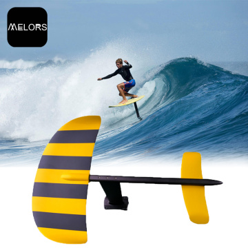 Black & Yellow Color Aluminum SUP Surfboard Surfing Hydrofoil