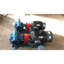 Self-priming hydraulic gear pump for biodiesel oil industry