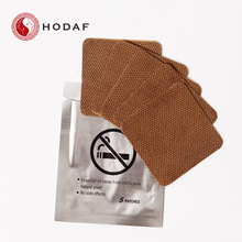 Customized for Natural Anti Smoking Patch Nicotine and Stop Smoking Patch with cheap price export to Bolivia Manufacturer