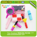 3D fashion makeup comb Stationery Eraser