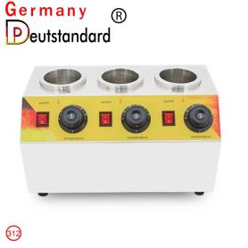Three bottles sauce warmer machine durable