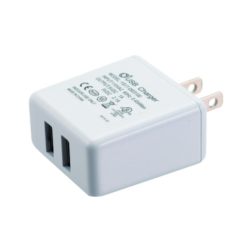 16W USB-typ - Mobiltelefon Adapter Laddare