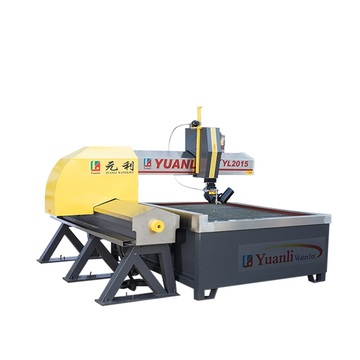 3 axis waterjet cutting machine fly arm