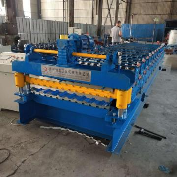 double layer roof and wall sheet forming machine