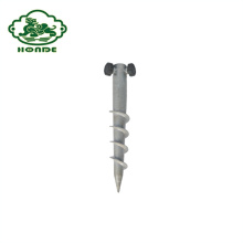 High Quality Hot Dipped Galvanized Ground Spike Anchor