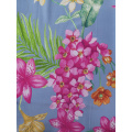 Flower Rayon Challis 30S Air-jet Printing Fabric