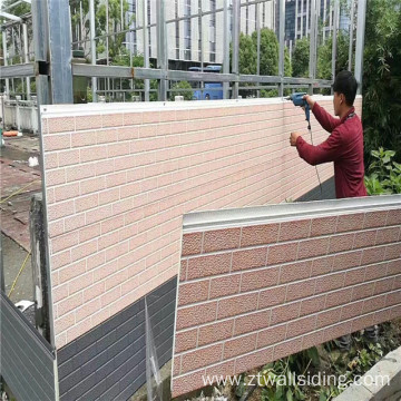 Pu Foam Insulated Decorative Exterior Wall Panels