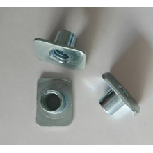 China for Customized Metal Stamping Parts Zinc Plating Carbon steel Weld Nuts export to Italy Manufacturer