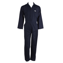 Navy blue coverall uniform