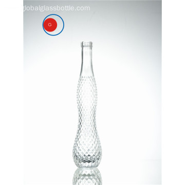 Creative Glass Bottle Gourd Shape and Crystalline Diamond
