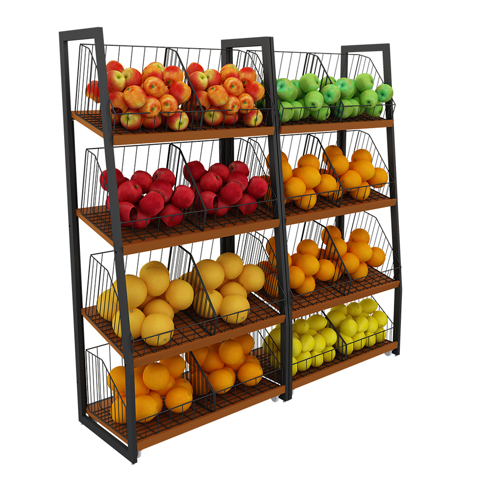 Vegetable And Fruie Shelves