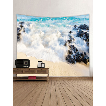 Tapestry Wall Hanging Ocean Beach Sea Series Tapestry Great Wave Reef Tapestry for Bedroom Home Dorm Decor