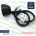 QINGQI M125-2D L. Handle Switch Assy-with Black Lever (P/N:ST06030-0009) Top Quality