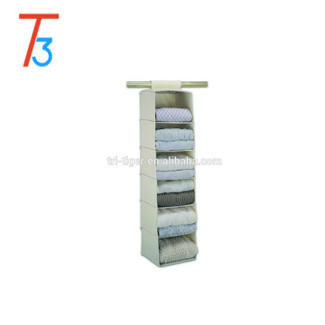 6 Shelves Fabric Storage Closet Hanging Storage Organizer