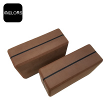Factory made hot-sale for Eva Yoga Brick Melors Anti-slip Yoga Foam Block Fitness export to South Korea Factory