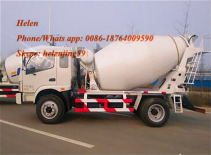 Self Loading Mixer Truck