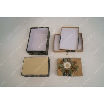 Fashion hand made paper hat gift box sets