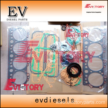 excavator EF550 engine gasket bearing piston ring liner
