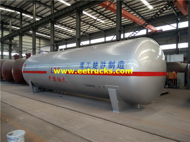 45cbm LPG Gas Bullet Tanks